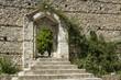 Metropolis of Mystras - Entrance to beautiful garden