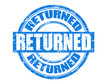 Returned stamp
