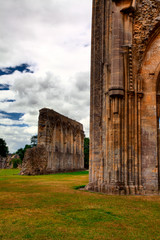 Glastonbury Abbey - Famous abbey in Great Britain