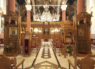 inside an orthodox church