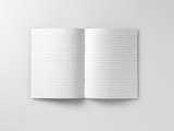 blank school excersize exerscise  notebook  jotter