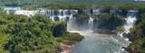 Fototapety Iguazú-Wasserfälle, Brasilianische Seite
