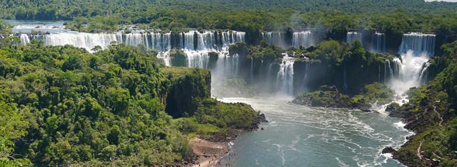 Iguazú-Wasserfälle, Brasilianische Seite