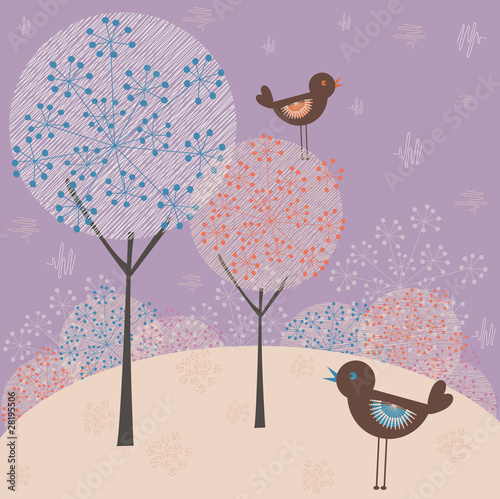 Winter background - 28195506