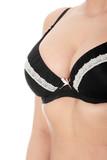 Woman breast in bra