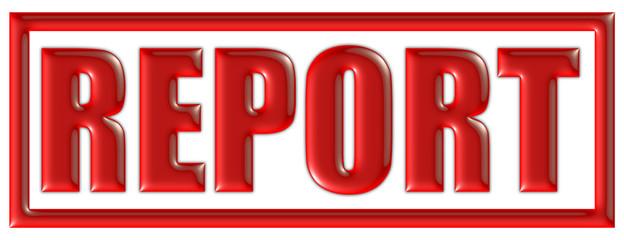 Stempel rot REPORT
