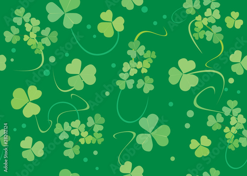 vector green texture with flora