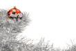 fondo navideño espumillon y bola