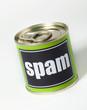 spam virus en boite toxique