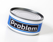 problem in a can