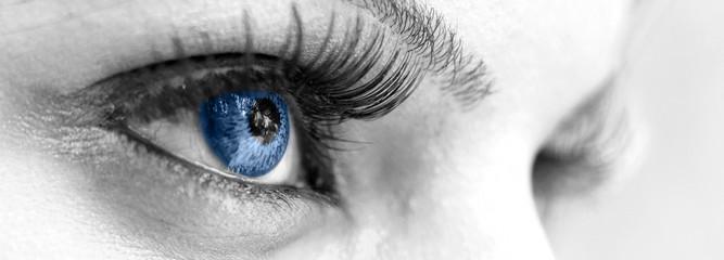 Blue Eye - Beautiful, Feminine