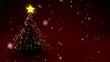 Fröhliche Weihnachten mit Tannenbaum / Merry Christmas