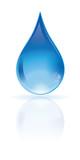 icone, bouton eau