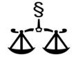 Waage - Recht - Paragraf