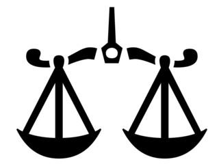 Waage - Recht