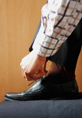 chaussures luxueuse pour hommes