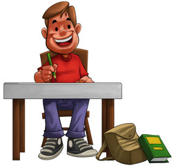 hard student