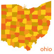 ohio detailed map