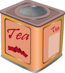 Box for tea
