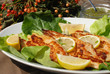 Delicious spiced catfish fillet