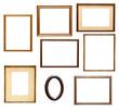 wooden frame grunge