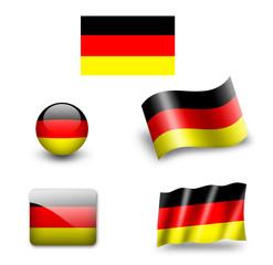 deutschland fahne, germany