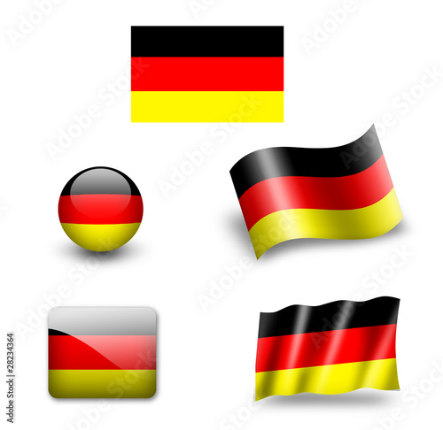 deutschland fahne germany stockfotos und lizenzfreie bilder auf bild 28234364. Black Bedroom Furniture Sets. Home Design Ideas