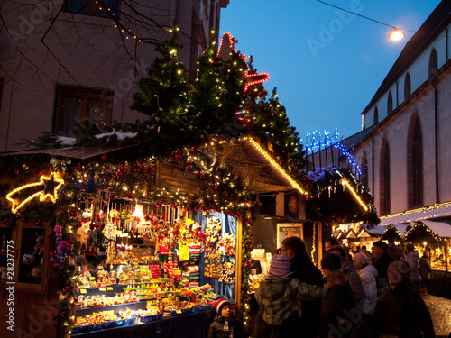 Cabanon de marché de Noël