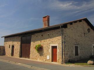 Village d'Etagnac ; Charente, Limousin