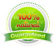 100% Natural Guaranteed