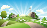 Fototapety farm