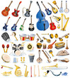 Big collection of music instruments - 28243738