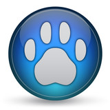 Animal Paw Print Icon