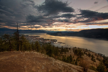 Sunset View on Kelowna
