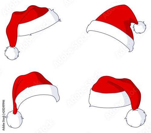 Santa hats - 28249946