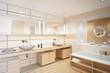 Contemporary Bath Design (3d)