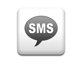 Boton cuadrado blanco SMS