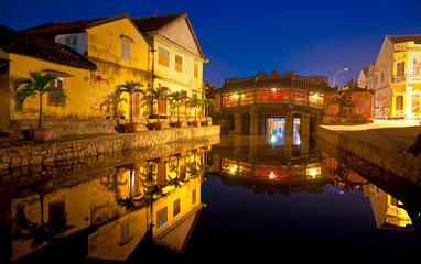 Japanese Bridge in Hoi An. Vietnam