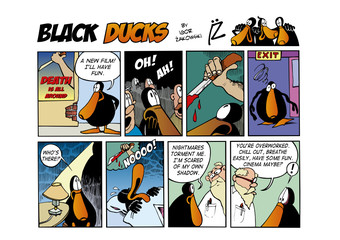 Black Ducks Comic Strip episode 63