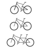 Vector signs of bicycles