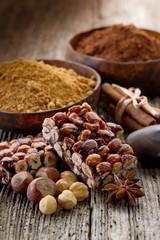 hazelnut brittle-croccante