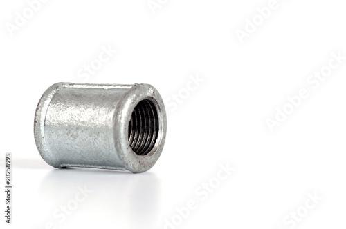 Malleable iron plumbing fittings - nipple