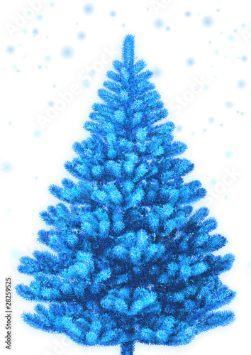 new year, fir-tree