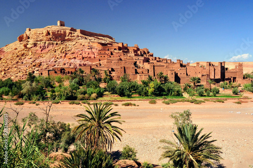 Tuinposter Marokko Ouarzazate Marocco città set del film Il Gladiatore