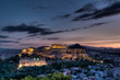 Parthenon and Acropolis, Athens at sunrise