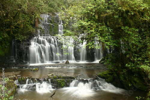 Papa Falls New Zealand