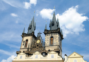Prague, Old Town. Cathedral