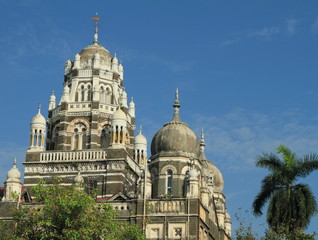 architecture of Bombay ( Mumbai) Churchgate region, India