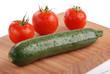 zucchina e pomodori due