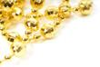fondo tarjeta blanco bolas oro